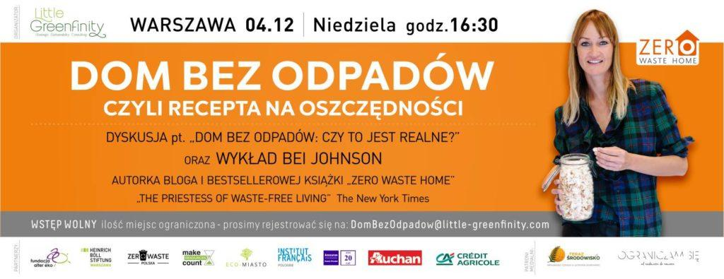 konferencja zero waste bea johnson
