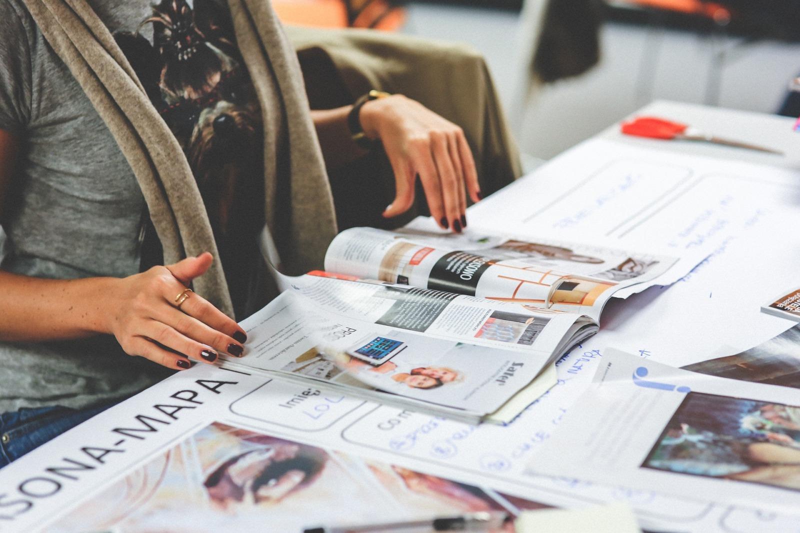 Jak wyrzucać gazety