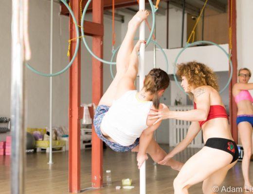 pole dance sport eksperymentujesz ograniczam się