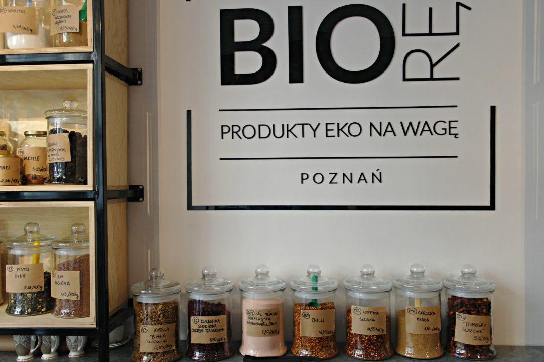 biorę poznań sklep na wage zero waste