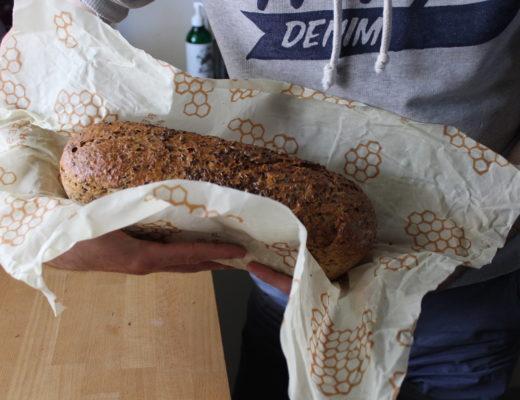 mąż zero waste i chleb