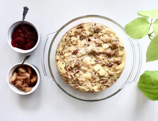 Pudding chlebowy czyli sposób na suchy chleb