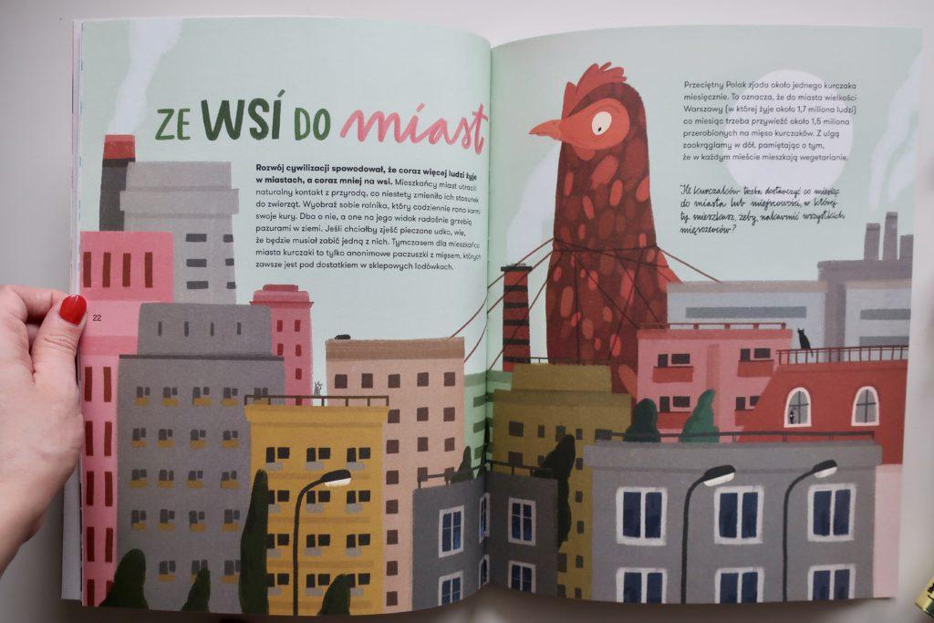Zwierzokracja, wyd. Papilon, to świetna książka o zwierzętach dla dzieci