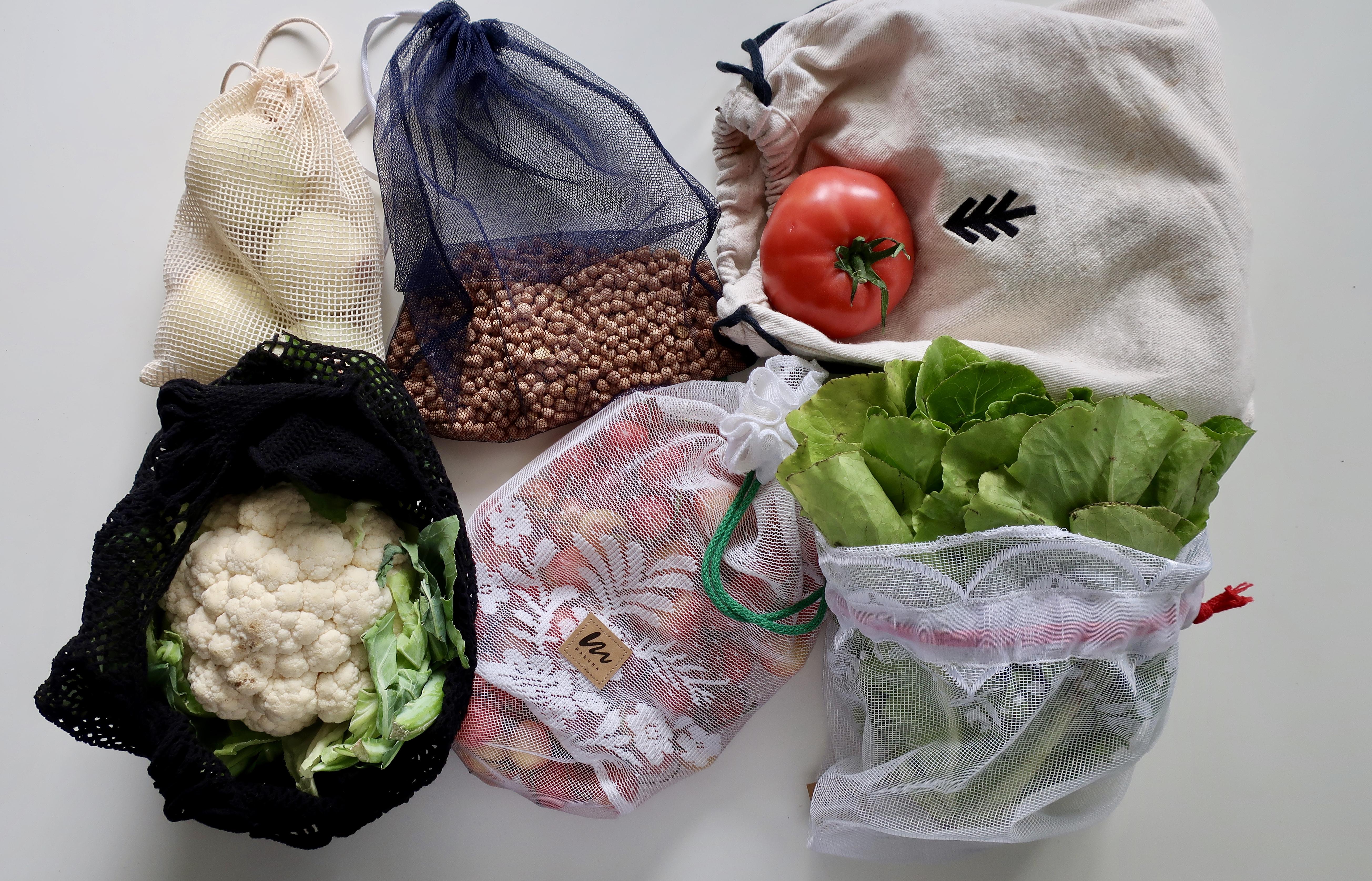 Ograniczam Się Worki, woreczki, torby na zakupy zero waste