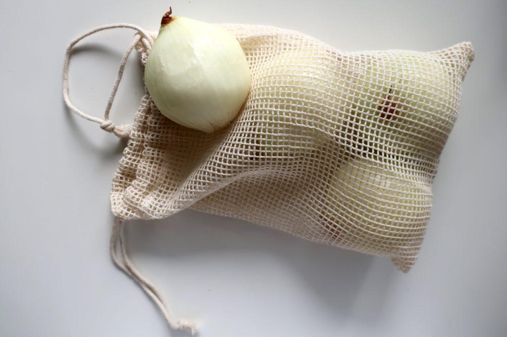 Siateczkowy woreczek marki Torbacze