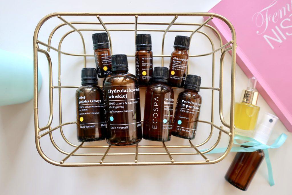 Surowce ECOSPA do domowego tworzenia kosmetyków