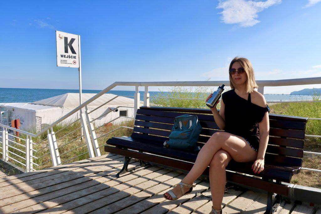 Szorty i top z kolekcji No Waste KOKOworld nosiłam niemal codziennie w trakcie urlopu nad morzem