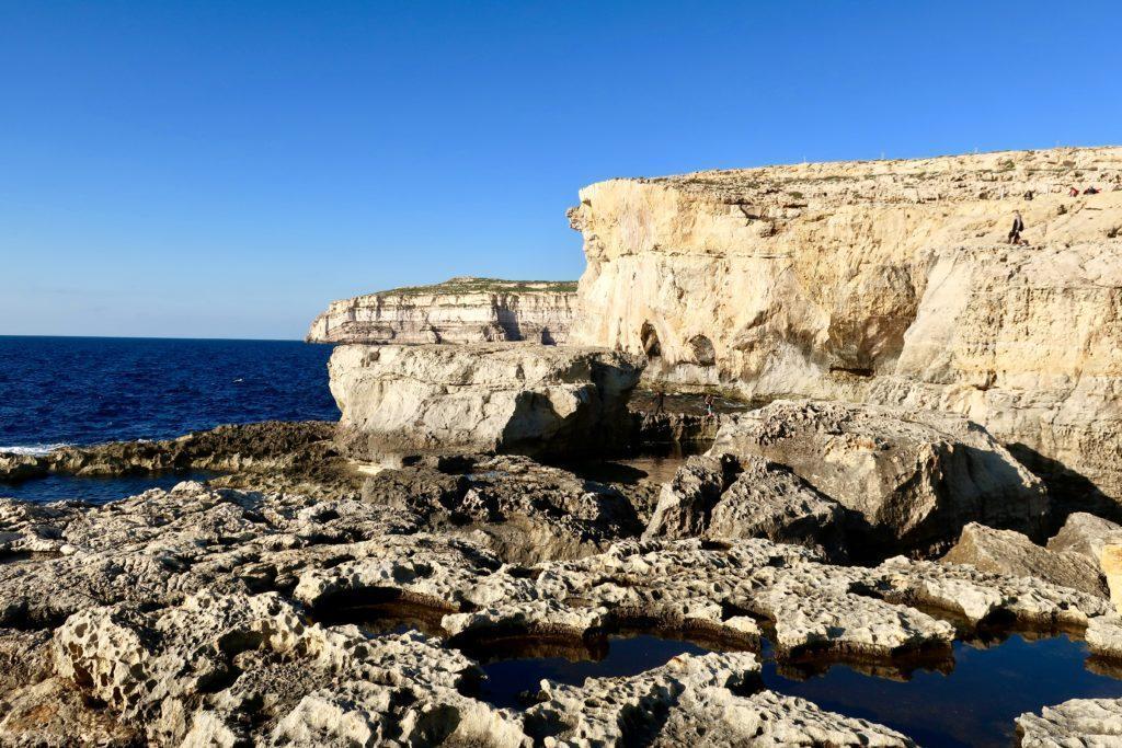 Lazurowe Okno, Malta