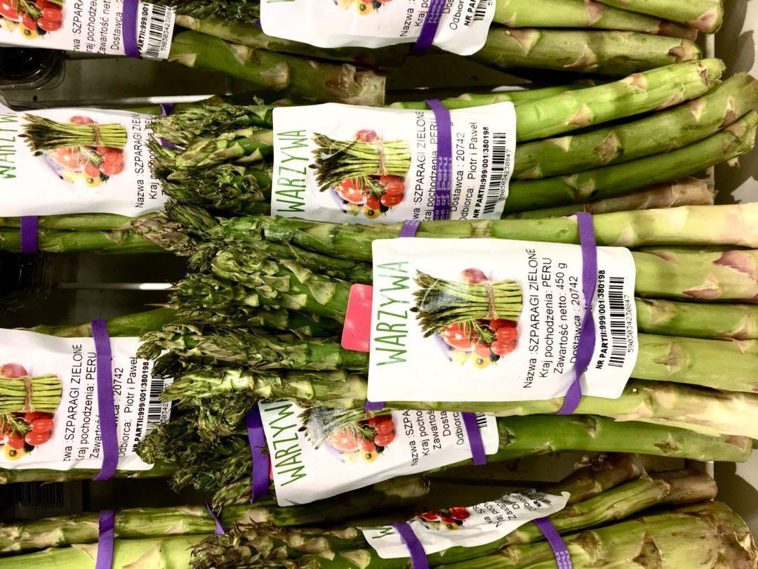 Czy kupować w Polsce szparagi z Peru