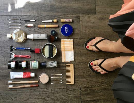 Kosmetyki zero waste w podróży