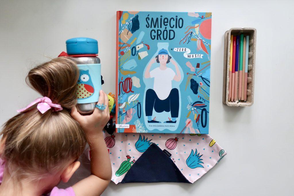 Śmieciogród - książka o zero waste dla dzieci