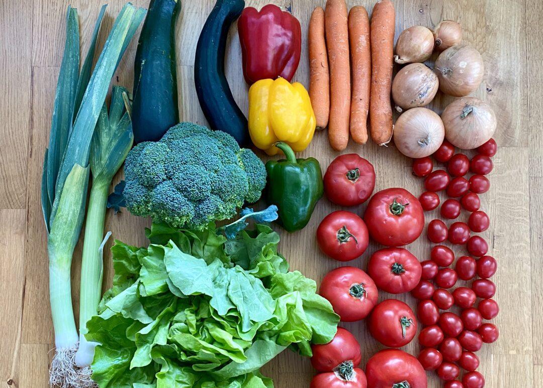 Jak jeść więcej warzyw