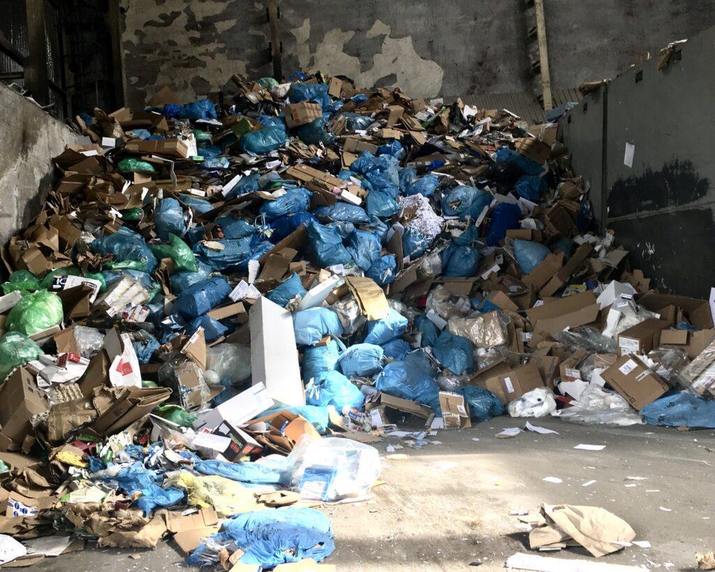 Plastik zbierany z naszych domów