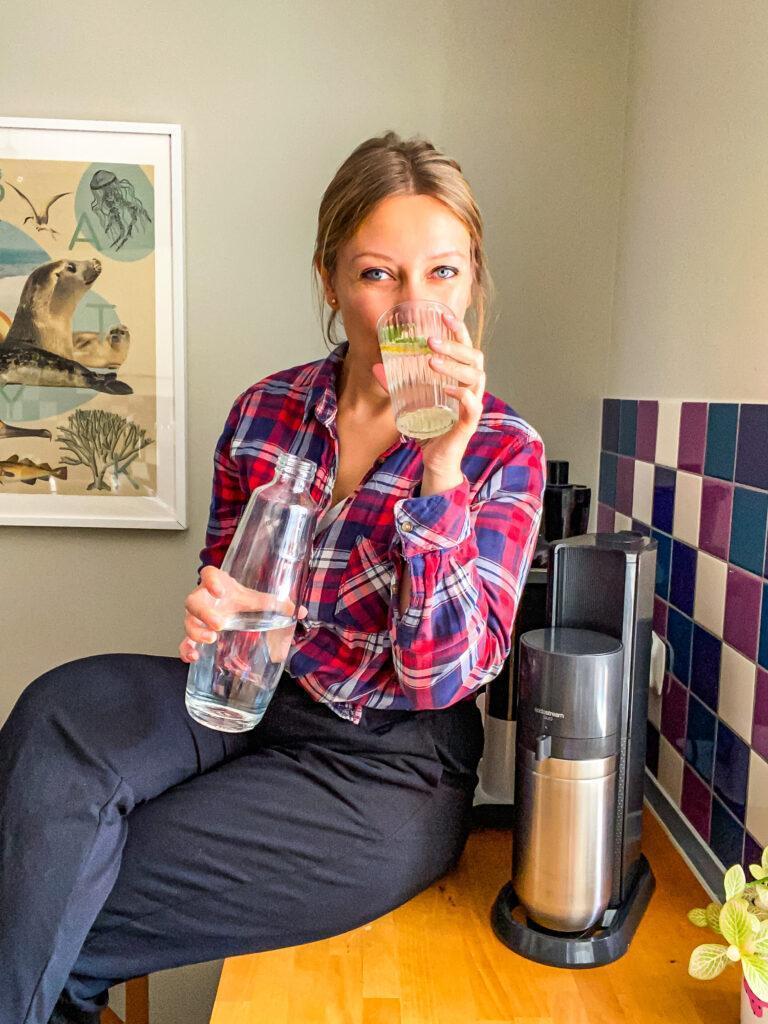 Woda gazowana bez plastiku